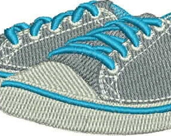 Machine Embroidery Design shoes (look as natural), 98 * 43mm, embroidery on your machine