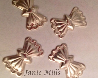 Sterling concho  butterfly 10 x 16mm