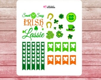 Saint Patrick's Day Planner Stickers