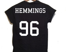 Luke Hemmings Jersey Shirt,5 seconds of summer inspired, 5sos