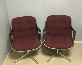 Mid Century Executive STEELCASE chairs- SUPER CLEAN