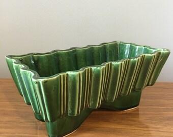 Green deco planter