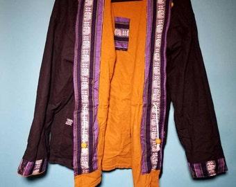 True Vintage Reversible Zip Up Hoodie XL