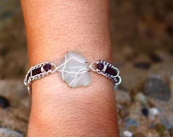 Light Blue Chain Bracelet