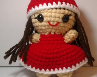 Crochet doll, Amigurumi doll