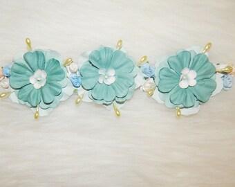 Floral Ombré headband