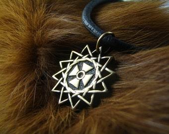 Star Ertsgamma, Amulet,  ancient christian star, pendant ertsgamma, gift for men, woman, Talisman, A religious symbol