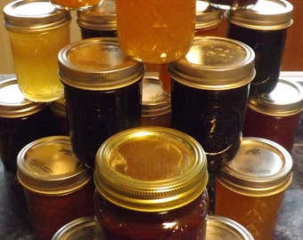 Fruit Butters, Jellies, Syrups