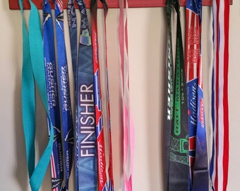 "Handmade Running Medal Hanger/Holder/Display ""I RUN 'Ohio'"""