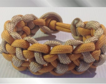 Honey and Oats Paracord Bracelet