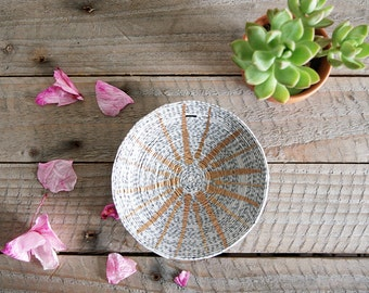 Sunburst Magazine Ring Dish | Engagement Gift | Catchall | Custom Name | Trinket Dish | Ring Holder | Bridesmaid Gift | Jewelry Dish