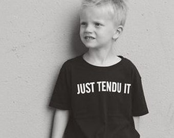 Just Tendu It Boys Dance Shirt.
