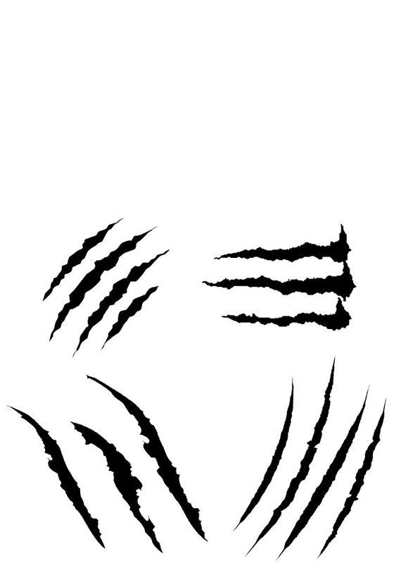 monster scratch design svg eps pdf png files digital direct