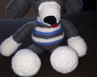 Amigurumi Crochet Puppy Dog