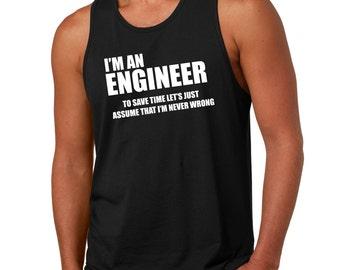 Engineer Tank Top Gift For Engineer Occupation Engineering Tank Top