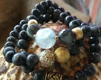 Beaded Boho Bracelets, Stretch Bracelets