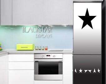 David Bowie Blackstar fridge wrap