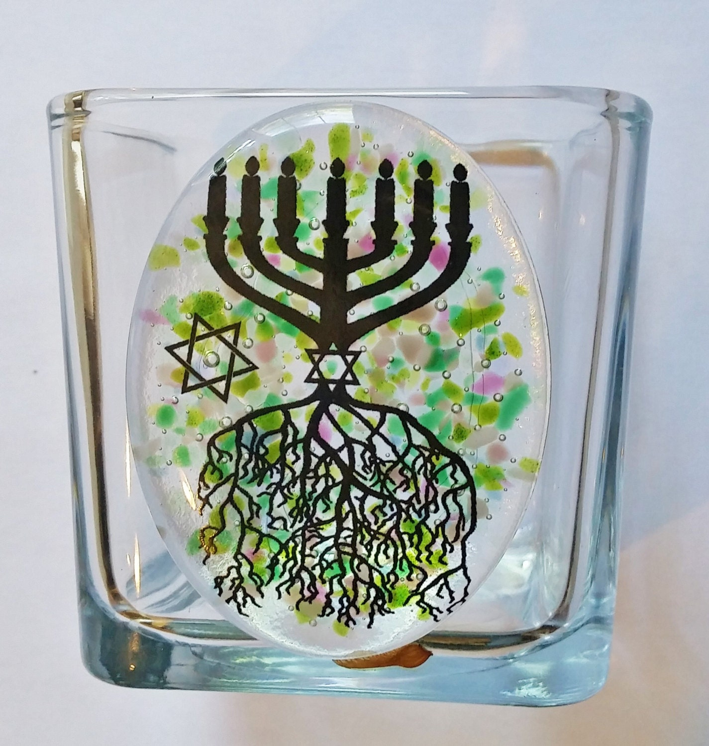 The gallery for --> Yahrzeit Candle Holder