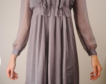 100% Silk Dress (S)