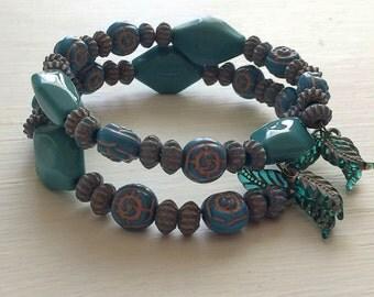 Bohemian Coil Bracelet