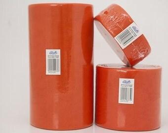 Orange tulle roll