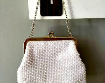 """Vintage Beaded """"Downton Abbey-Style""""  Evening Bag!"""