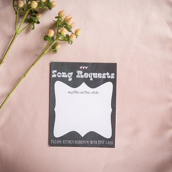 Chalkboard Square Wedding Invitation Suite