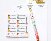 041 planner stickers : time to plan (candy series)