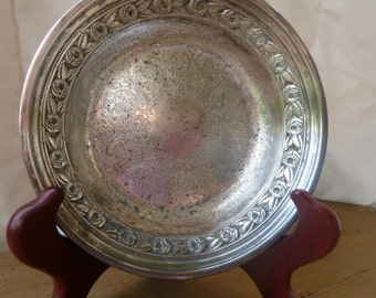 Antique Reed and Barton Silverplate Dish