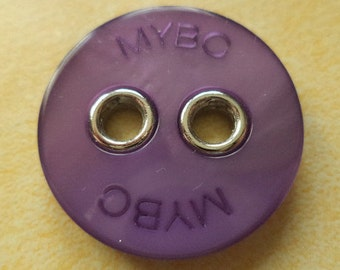 6 large BUTTONS purple 27mm (988) button coat buttons jacket buttons