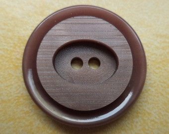 10 buttons Brown 23mm (6442) button