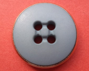 10 buttons light blue 18mm (750) button