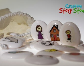 Creative Story Stones - Ignite your child's imagination FREE SHIPPING within Australia