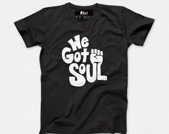 We Got Soul, Soulful, Urban, Hip Hop Inspired Black Kid's T-shirt