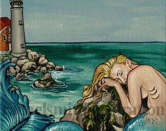 Lighthouse Mermaid - Loss
