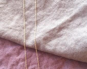 14k goldfill labadorite bar necklace