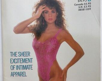 Vintage Playboy's Book Of Lingerie 1989
