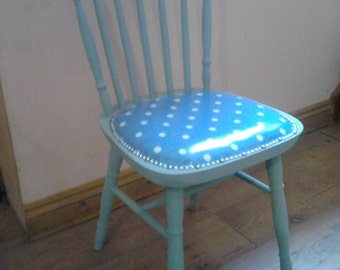 Lovely shabby chic chair, covered in genuine Cath Kidston material
