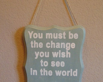 A-Brooch-Able Wall Decor - Green Be The Change
