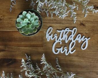 Birthday Girl Place Holder Birthday Party