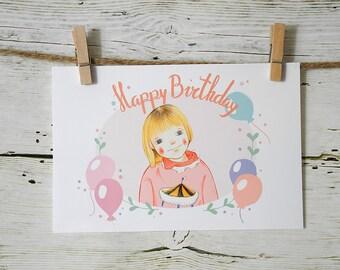 Custom Portrait Birthday Special