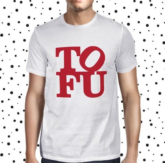Tofu Shirt for Men - Vegan T-shirt - Tofu Love Tee - Vegetarian T Shirt - Men's Vegan T-shirt - Plant-based Statement Tee - Tofu Love Tee