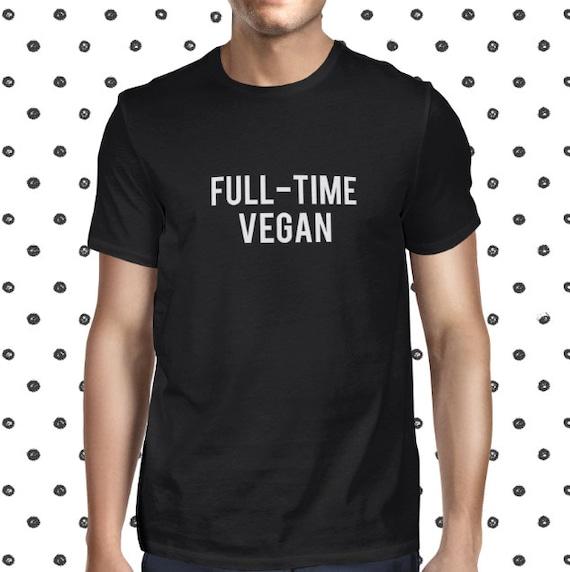 Men's Vegan Shirt - Vegan T-shirt for Men - Men's Vegan Closing - Graphic Vegan Tshirt - Plant-based T Shirt - Animals are Friends Tshirt