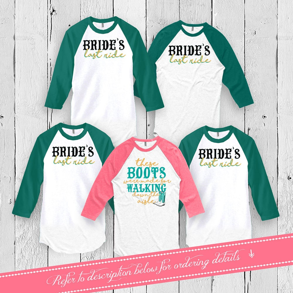 Bachelorette Party Shirts Bridal Party T Shirts Wedding Party