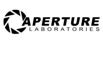 Aperture Laboratories Vinyl Sticker