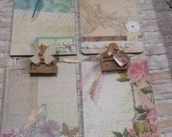 Embellished Mini Clipboards