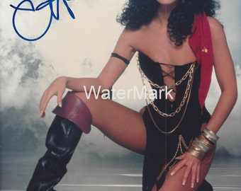 """Genuine CHER 8"""" x 10"""" Signed Color Photo with COA"""