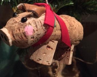 Wine Cork Pig