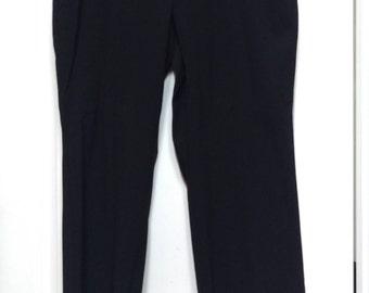 90s plus-sized black dress slacks