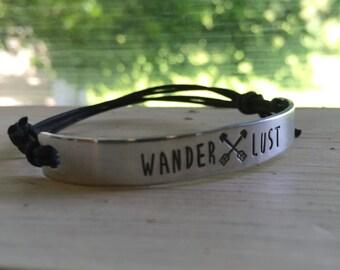 Wanderlust Bracelet - Silver - Wanderlust - Arrows
